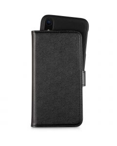Holdit Detachable Leather Case For iPhone XR Black