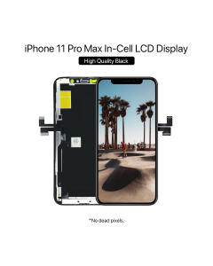 Apple iPhone 11 Pro Max In-Cell LCD Display High Quality Black