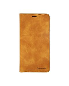 Flip Stand Magnetische Leather Case For iPhone 11 Pro Max Brown
