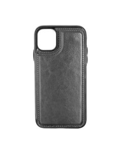 Fitted Leather Case For iPhone 11 Pro Black