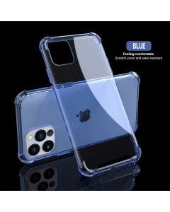 iPhone 12/ 12 Pro Shockproof Case Blue