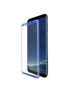 GSP Japan Tempered Glass Full Screen Protector For Samsung S8 Violet (packing)