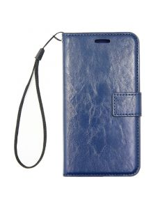 Detachable Leather Case For iPhone X/XS Blue
