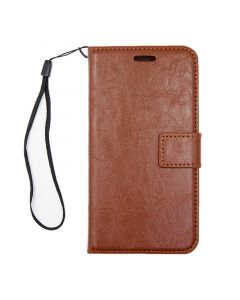 Detachable Leather Case For iPhone X/XS Brown