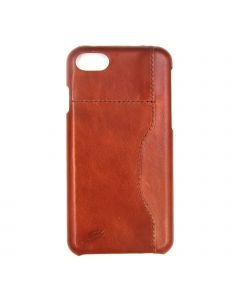 Fitted Leather Case For iPhone 7/8 Light Brown