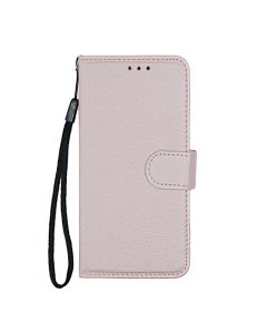 Flip Stand Leather Wallet Case For Samsung Galaxy S10e  Pink