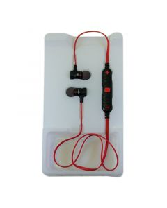 AWEI A920BL Earphones Black/Red