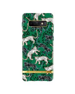 Richmond & Finch Mobilskal Samsung S 10 GREEN LEOPARD