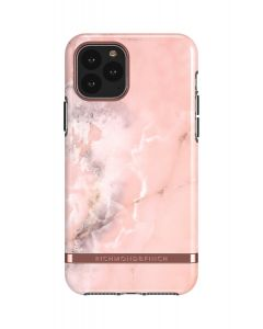 Richmond & Finch Pink Marble - Rose gold details, iPhone 11 Pro