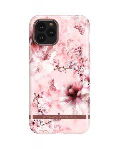 Richmond & Finch Pink Marble Floral - Rose gold details, iPhone 11