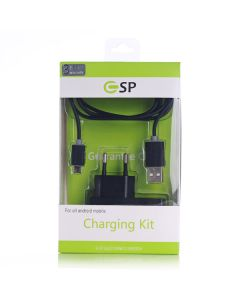 Charging Kit Micro-USB with 1 Meter Cable