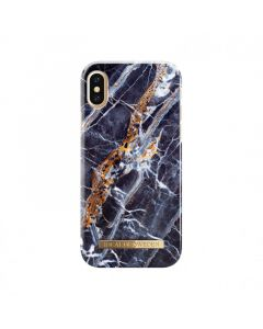 iDeal of Sweden Case iPhone X / XS - Midnight Blue Marble